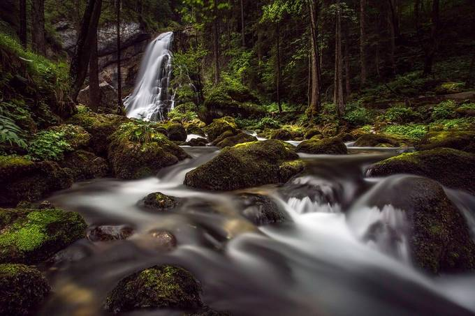 Golling Waterfall by Brian_Lichtenstein - Streams In Nature Photo Contest