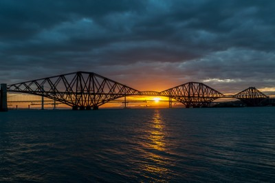 Sunset at the Bridges