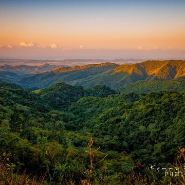 Maricao, Puerto Rico, It was a beautiful morning! I didn't think I would make it on time and didn't even know were to stop, I just kept going till i find something, My time was running out when I ran into this view!
