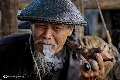 Portrait of Snake Charmer