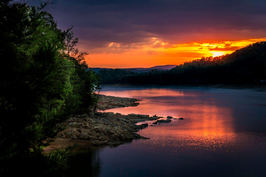 The night I had the honor to photograph this beautiful sunset, I shot a number of images. Ever so...