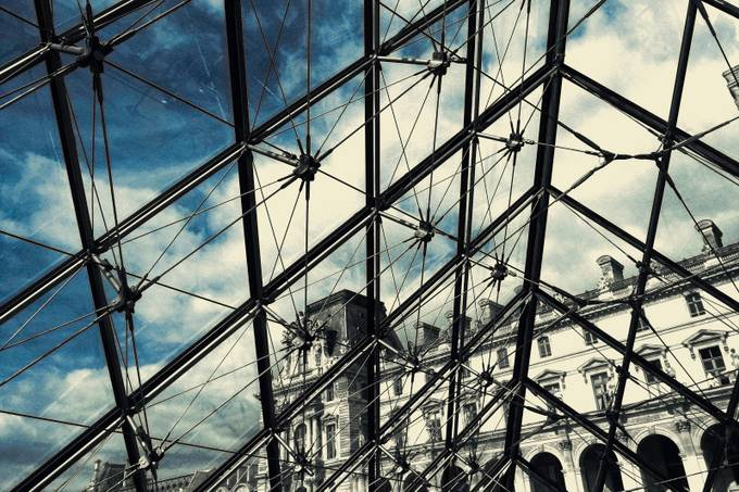 Through the Louvre Piramidy  by CleusaSiqueira - Paris Photo Contest