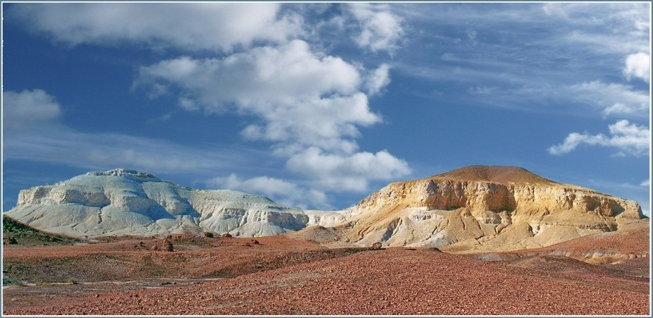 The painted desert a, section of the Painted desert near Alice springs