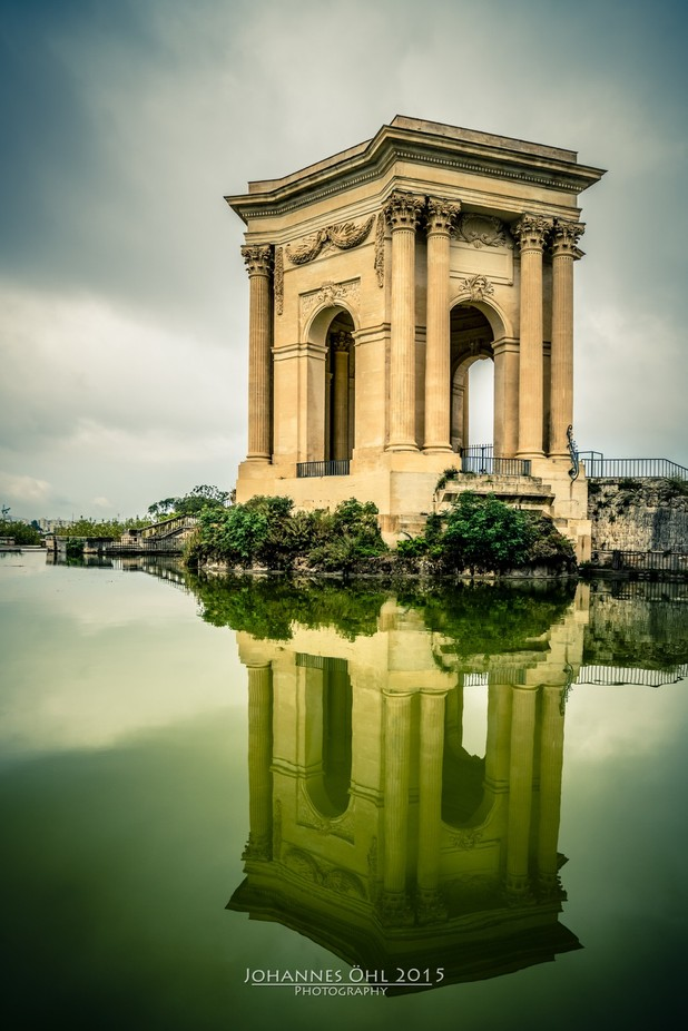 Château d'eau du Peyrou by johannesoehl - Architecture And Reflections Photo Contest