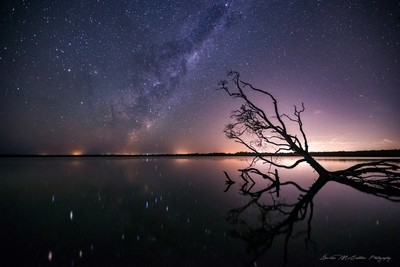 **Milky Way Reflections**