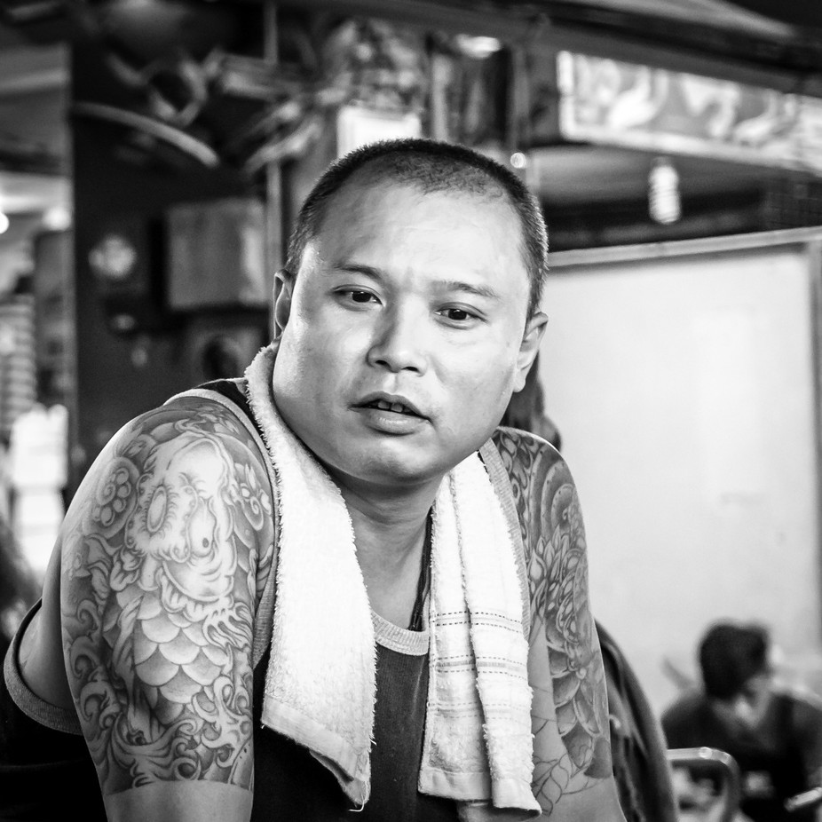 Man by thricegrate - 500 Tattoos Photo Contest