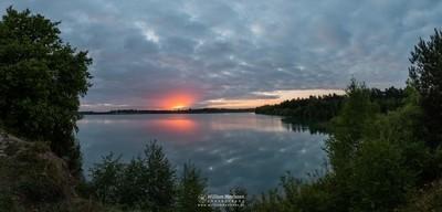 Panorama 'Cloudy Sunrise'