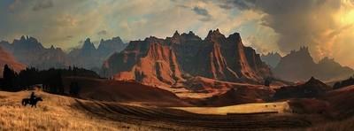 I had a dream in these Mountains ofThe Dragon, uKhahlamba Drakensberg