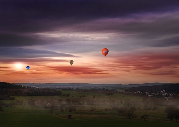Away by mrpeeps - Show Balloons Photo Contest
