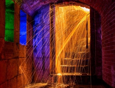 Light Painting, Old Portsmouth