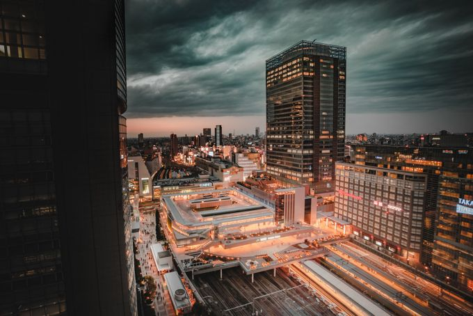 Shinjuku Station by MatthewKou