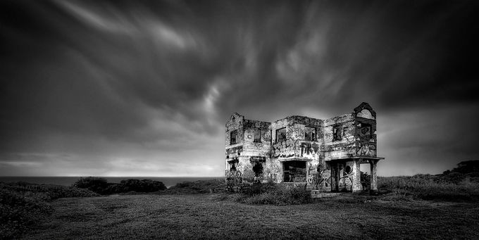 Ghost house by Alannixon - A Black And White World Photo Contest