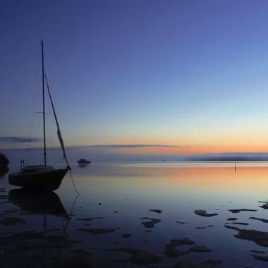 Tin Can Bay, Queensland, Australia, Sunrise
