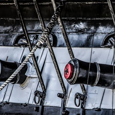 Guns of the USS Constitution
