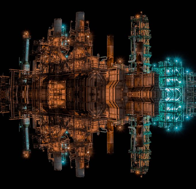 Refinery by williamdesaulniers - Parallel Compositions Photo Contest