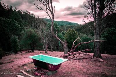 Outdoor Spa - Lachlan