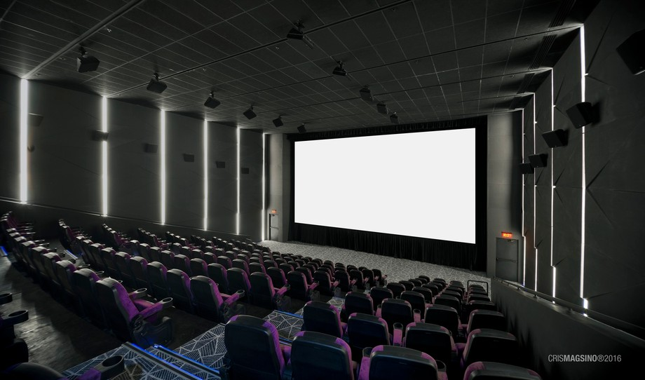 Shot this cinema interior for a client.