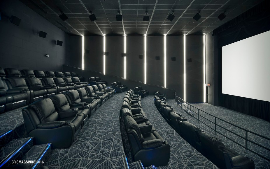 Another shot from the cinema client shoot i did. Amazing VIP couches!