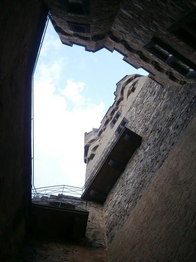 Majestic castle tower