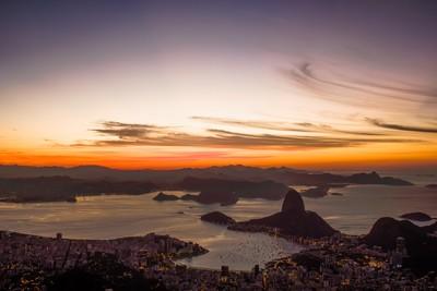 Rio At Dawn