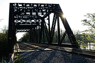 GrassyBrook Bridge at Dawn