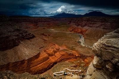 Storm over Bullfrog Canyon