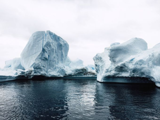 Antarctic Iceberg by johnbozinov
