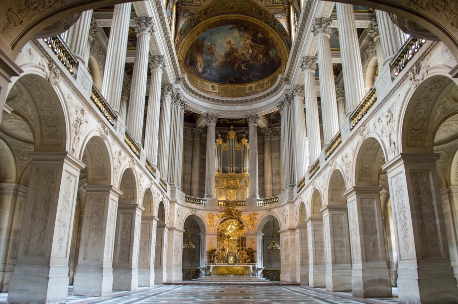 The Chapel at the Palace of Versailles
