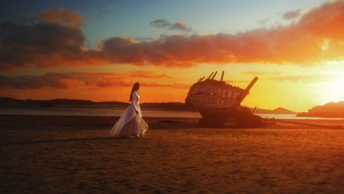 Ghost on the Shore  by Followmeaway - Fairytale Moments Photo Contest