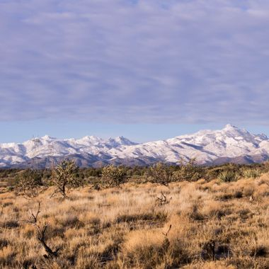 Hualapai Mountains in Northwestern Arizona
