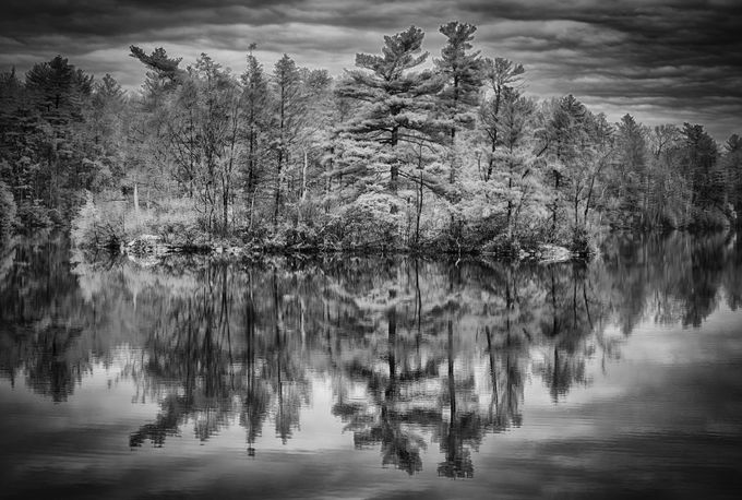 Reflections in Monochrome by alishaclarke - 500 Stormy Clouds Photo Contest