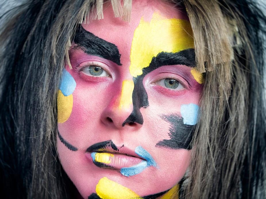 Inspiration makeup shoot by Alex Box