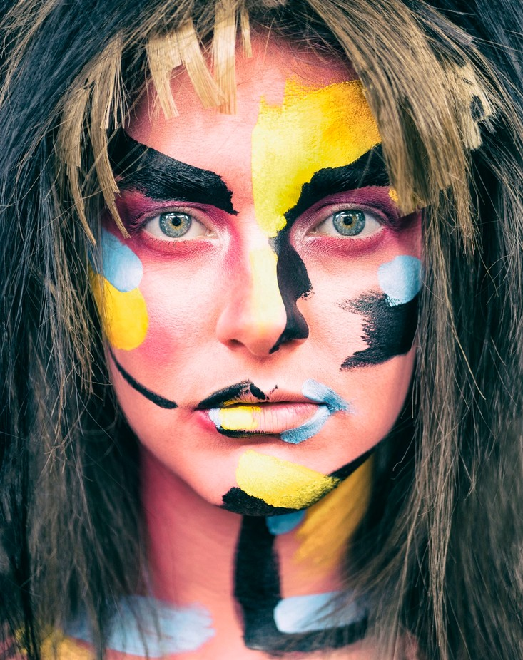 One Inspiration by elyprosser - Paint And Makeup Photo Contest