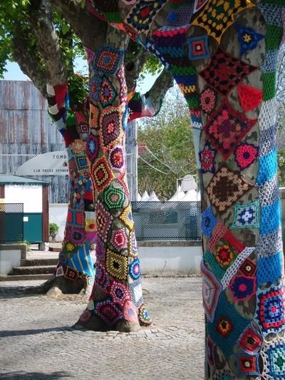 Árvores vestidas para a Romaria do Senhor de Matosinhos