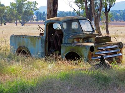 left to rust