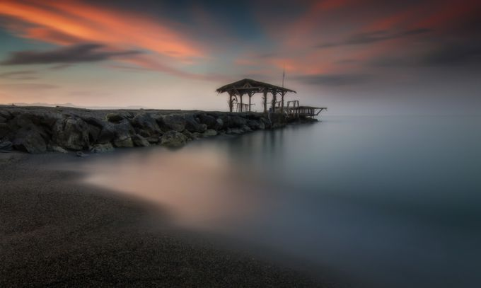 Fisherman's Blues by stratosgazas - Long Exposure In Nature Photo Contest