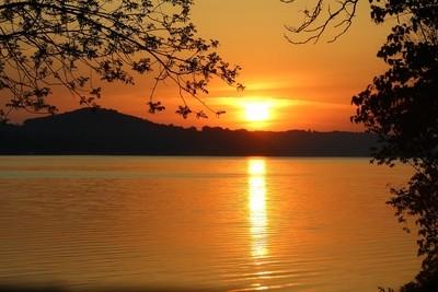 Sunrise Over Lake Wisconsin