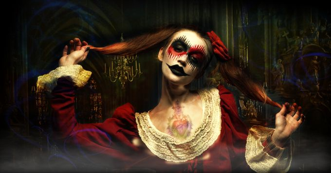 CIRCUS - Scary Beauty by KoreaSaii - Getting Creative Photo Contest