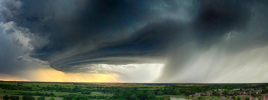 Oklahoma Storm Panoramic