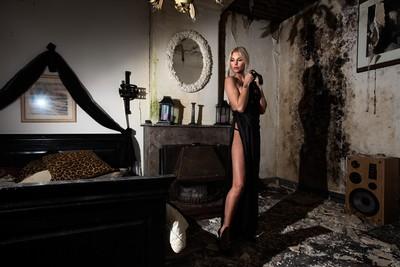 Slik goes urbex - the creepy bedroom