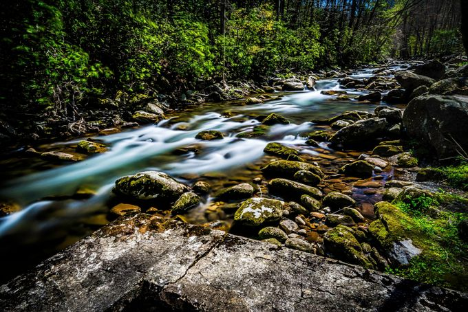 Little River by redmanimages - Streams In Nature Photo Contest