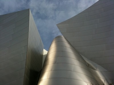 Frank Gehry Disney Concert Hall Downtown Los Angeles