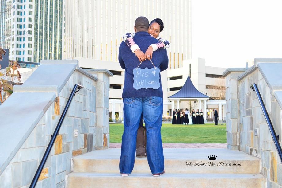 Engagement photo...
