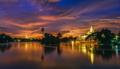 Glow on the lake