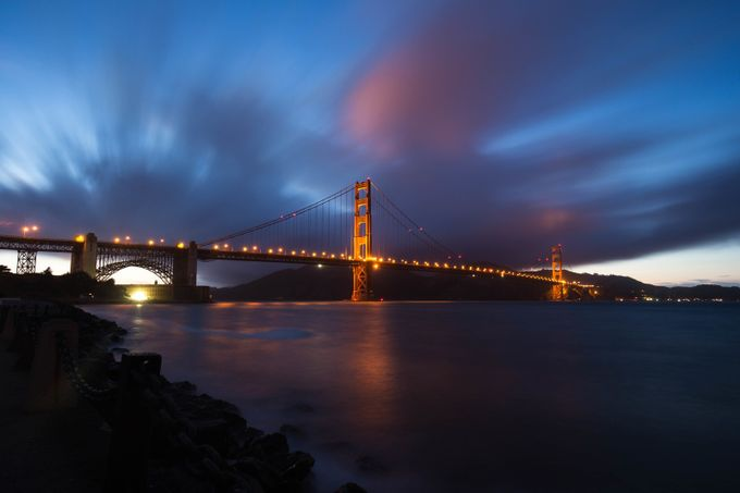 Fort Point Blue Hour by jaredweaver - Long Exposure Experiments Photo Contest