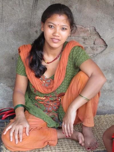 Nepali girl, Ganga