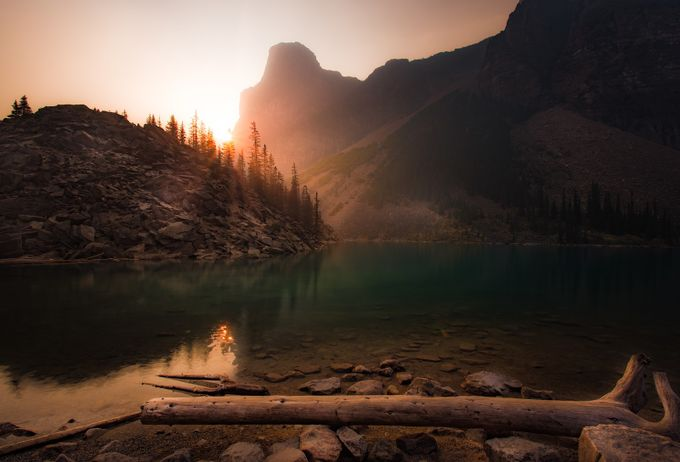 Sunrise Over a Smoky Moraine Lake by chadmcmahon - Creative Travels Photo Contest