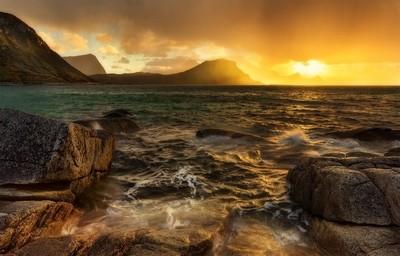 The Lofoten Sunset.