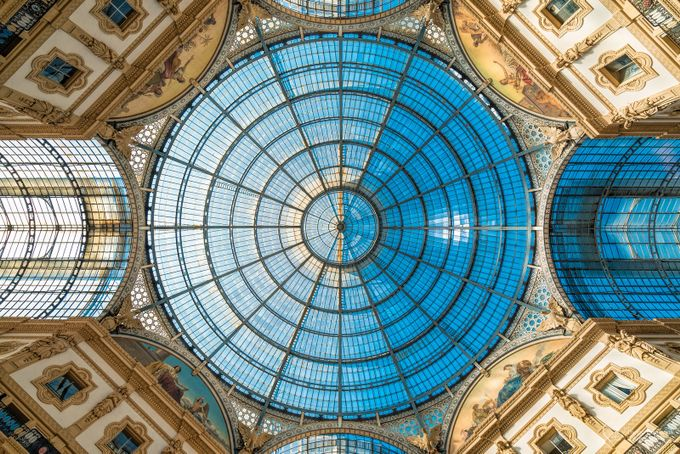 Galleria Vittorio Emanuele II by SirDiegoSama - High Ceilings Photo Contest