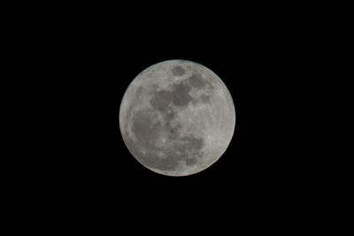 Better upload of the moon from last night!